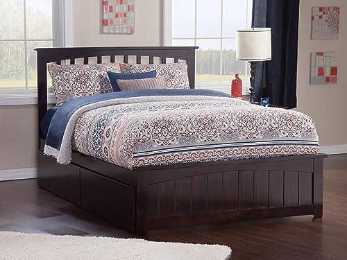 Atlantic Furniture Mission Platform Bed