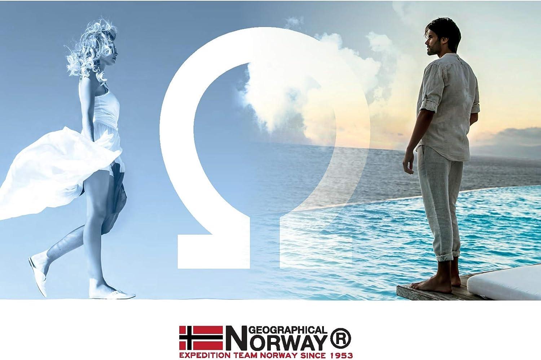 Geographical Norway Parka gesteppt mit abnehmbarer Kapuze viele Taschen Modell Volva von S bis XXL