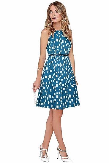 290853e7200 V & D FASHION Women's Western Wear Dress (highway)