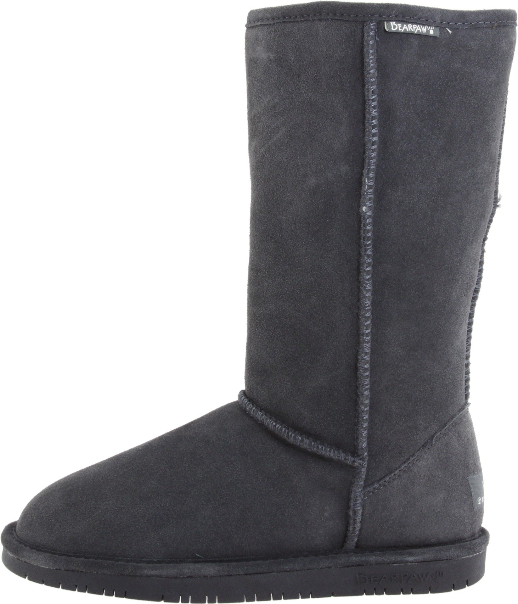 BEARPAW Women's Emma Tall Winter Boot, Charcoal, 9 M US by BEARPAW (Image #5)