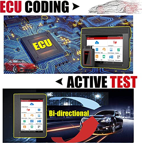 Rest assured, the Launch X431 V Pro comes with ECU Coding