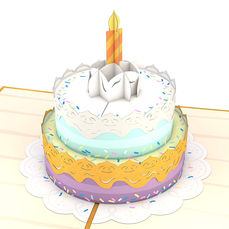 Tarjeta En 3d De Feliz Cumpleaños