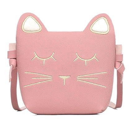 a2383d5931aa Buy CMK Trendy Kids Cute Cat Toddler Purse for Little Girls