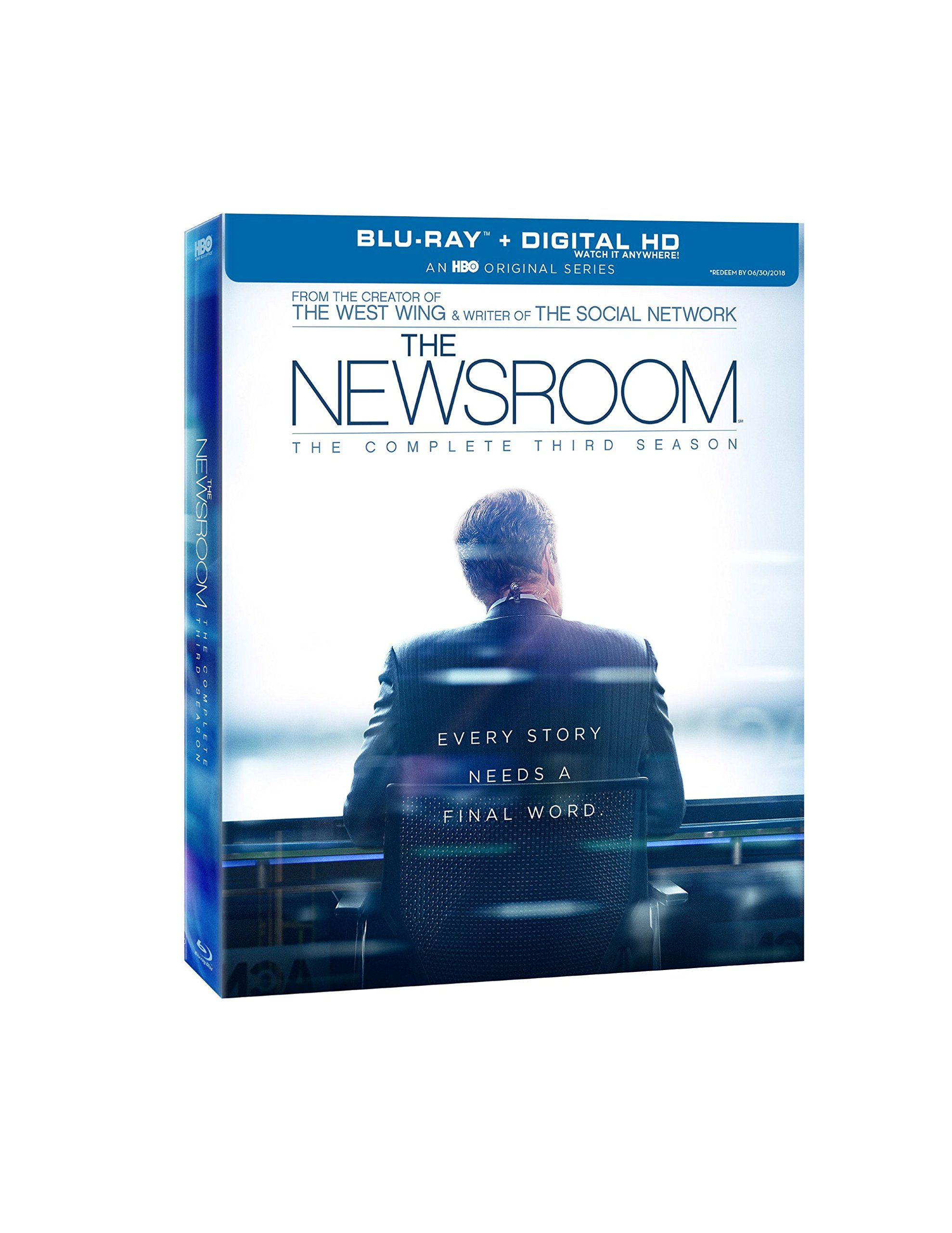 Blu-ray : Newsroom: The Complete Third Season (Digital Theater System, AC-3, , Dubbed, Digitally Mastered in HD)