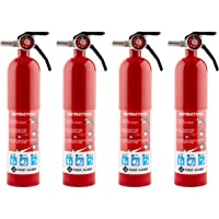 4-Pack First Alert 1038789 Standard Home Fire Extinguisher (Red)