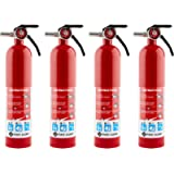 FIRST ALERT HOME1 Rechargeable Home Fire Extinguisher, Red