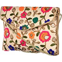 SPS Handcrafted embroidery traditional handbag for women & girls
