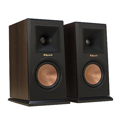 Klipsch RP 160M Walnut Bookshelf Speaker Pair
