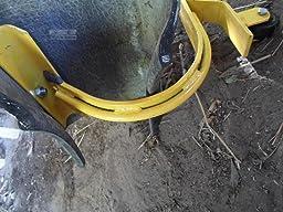 Roof Ridge Ladder Hook With Fixed Wheel Amp Swivel Bar