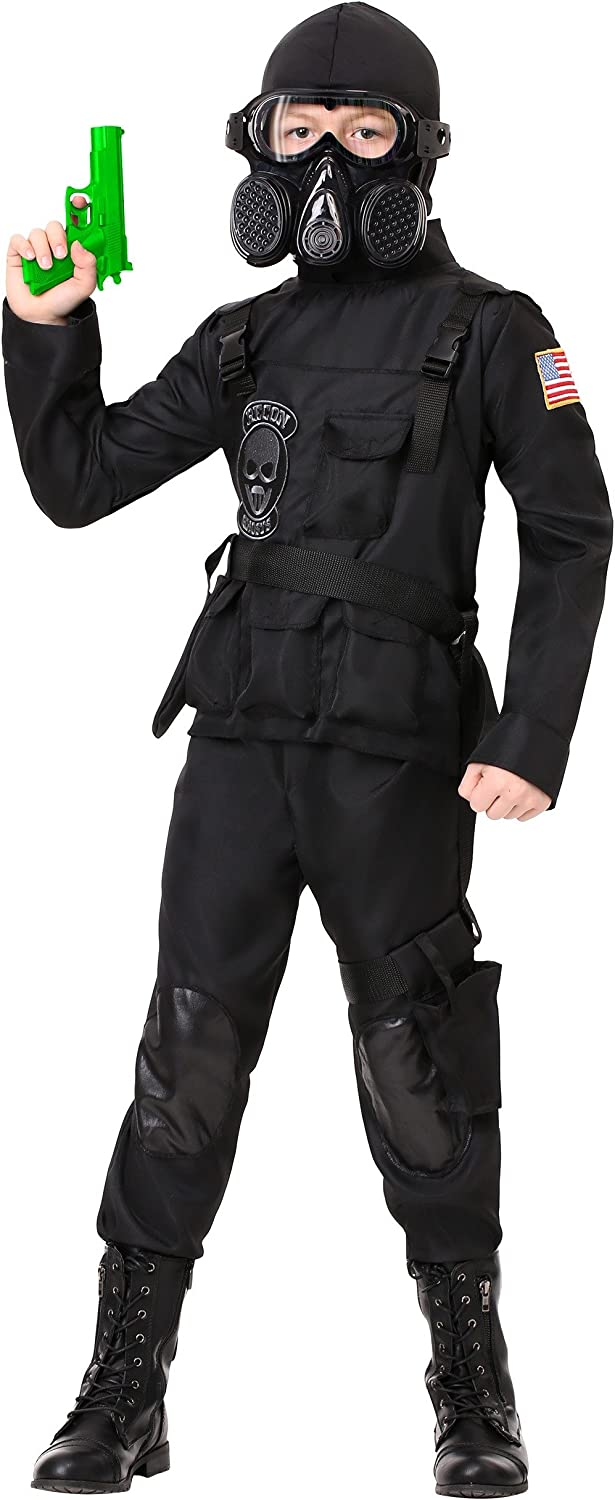 Kid's Navy Seal Team 6 Costume Special Forces Costume for Kids