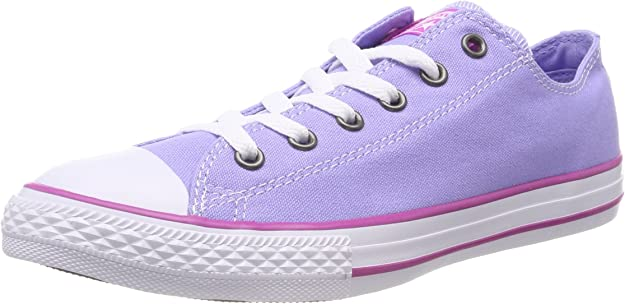 Converse CTAS Ox, Baskets Mixte Enfant, Violet (Twilight