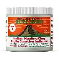Aztec Secret Healing Clay 1 lb (454 grams) - New Version 2 - Deep Pore Cleansing Facial & Body Mask - The Original 100…