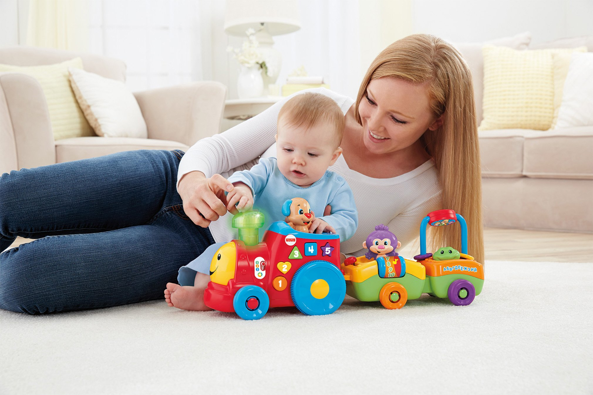 Fisher-Price Laugh & Learn Smart Stages Puppy's Smart Train by Fisher-Price (Image #11)