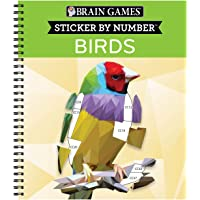 Brain Games - Sticker by Number: Birds (42 Images)