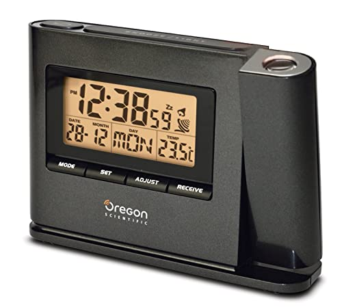 Oregon Scientific IWA80135 Reloj proyector, Negro