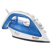 Tefal FV4040 Ultraglide Steam Iron, 2400 Watt, Blue/White