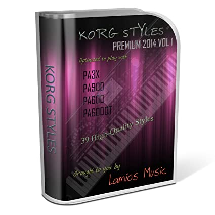 Amazon com: Korg Styles Premium 2014 Vol 1 for Korg PA300
