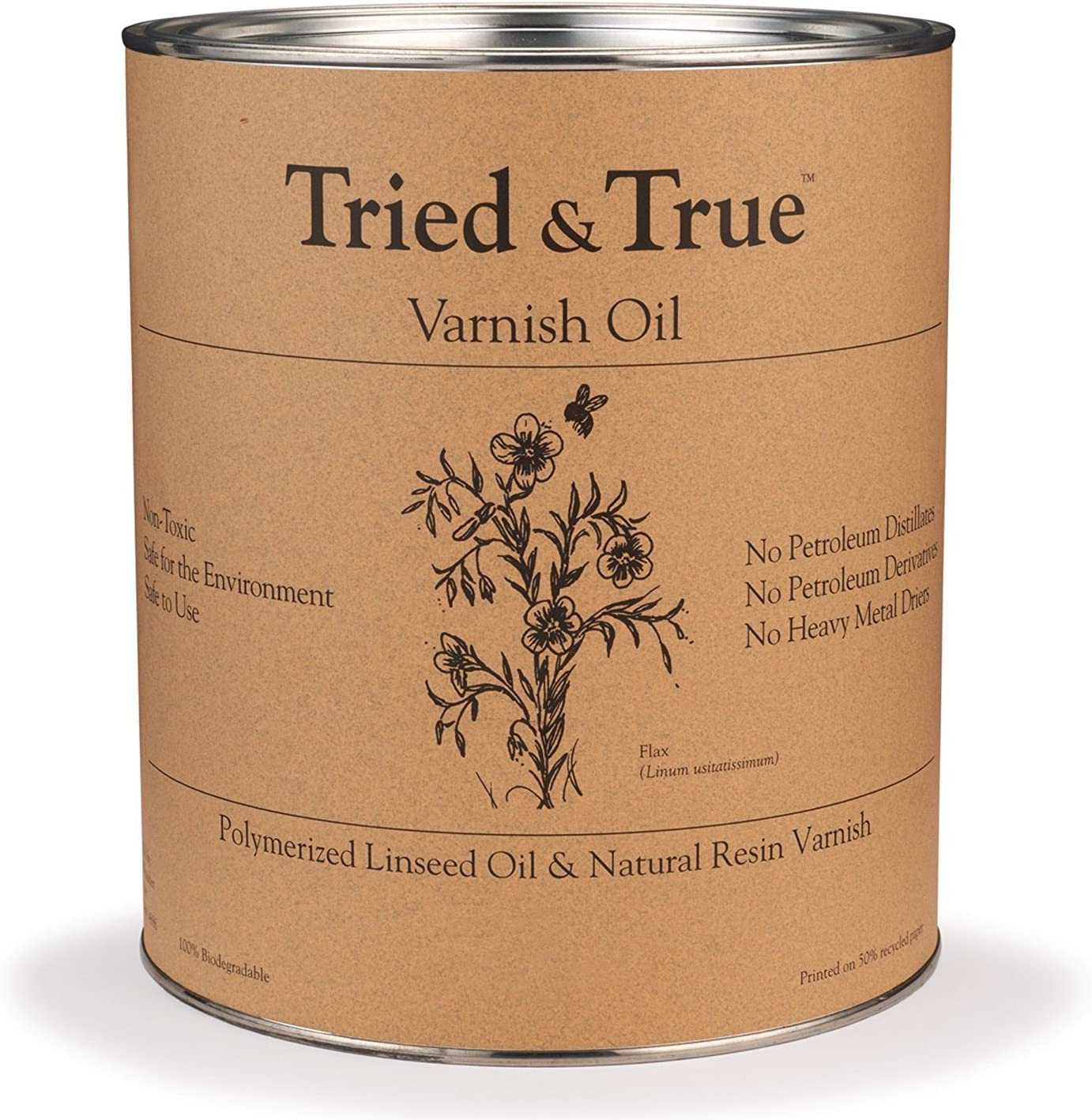 Varnish Oil, Quart