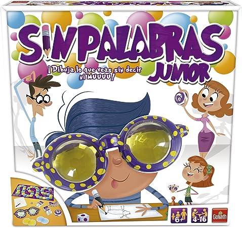 Goliath - Sin Palabras Junior, Juego de habilidad (70110): Amazon.es: Juguetes y juegos