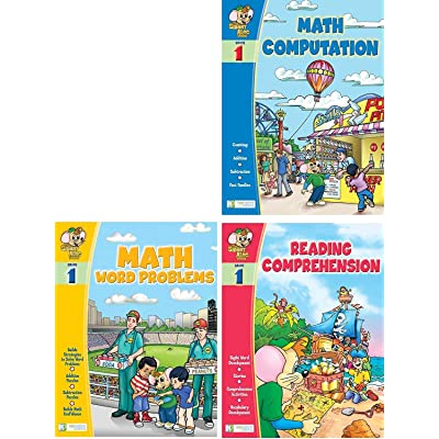 Smart Alec (1st Grade) 3 Pack Learning Series, Includes: Math Readiness, Reading Readiness, Math Word Problems: Toys & Games