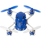 Hubsan H111 Q4 Nano Drone Quadcopter - World's Smallest Mini Kids Drone - 2.4 GHz 4CH RC Drone - Exclusive Blue