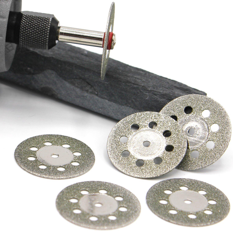 D27 10x Mini Diamanttrennscheibe Ø 35mm Schleifscheibe für Dremel und Proxxon
