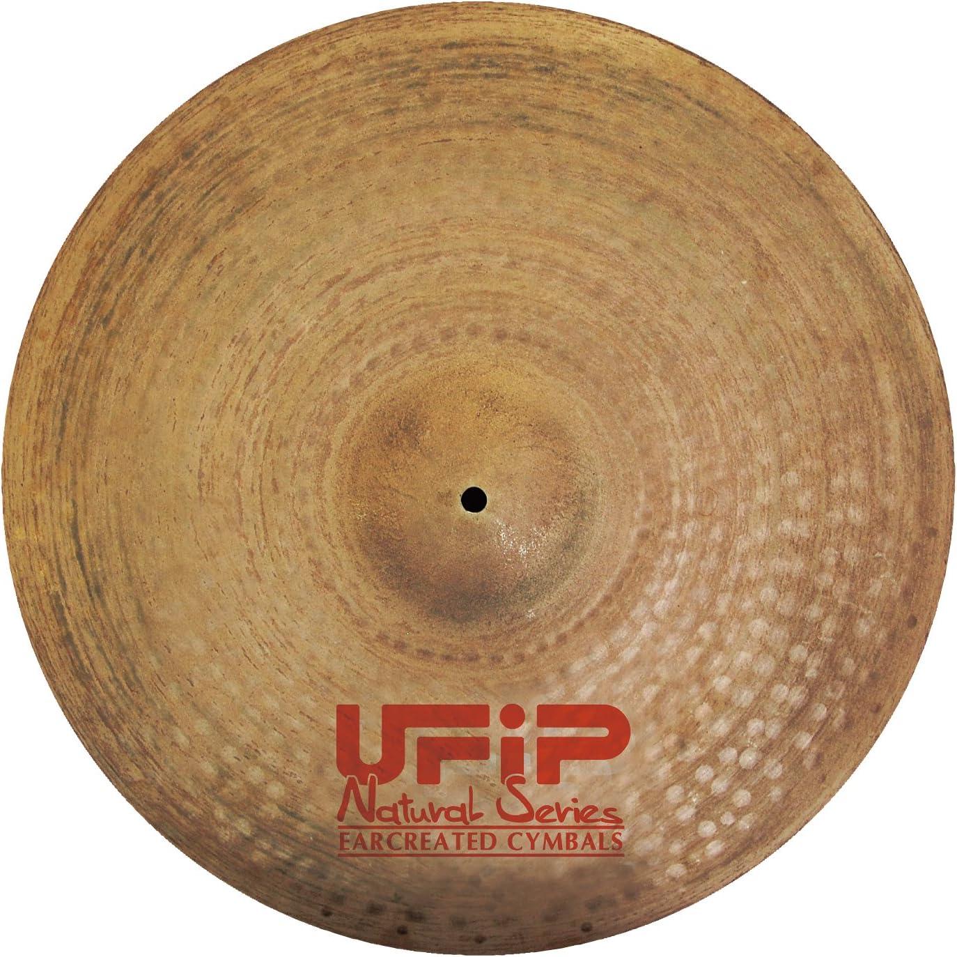 UFiP NATURAL シリーズ クラッシュ ライドシンバル 22インチ NS-22CR