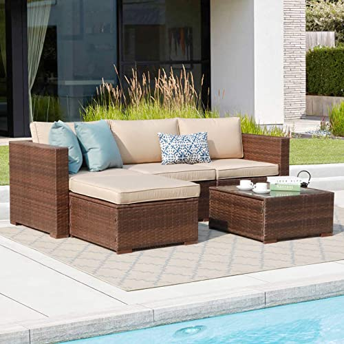 Patiorama 5 Piece Outdoor Patio Furniture Set