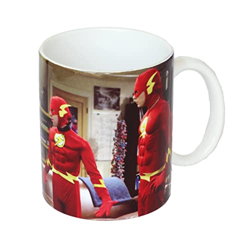FemmeTasse Bang TheLecteurs Pour Sd Big En Céramiquesdtwrn27489 Theory Toys The Flash y6Y7gbfv
