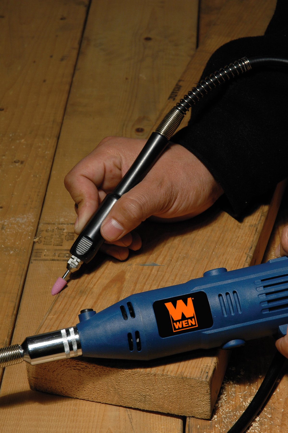 WEN 2305 Rotary Tool Kit with Flex Shaft by WEN (Image #5)
