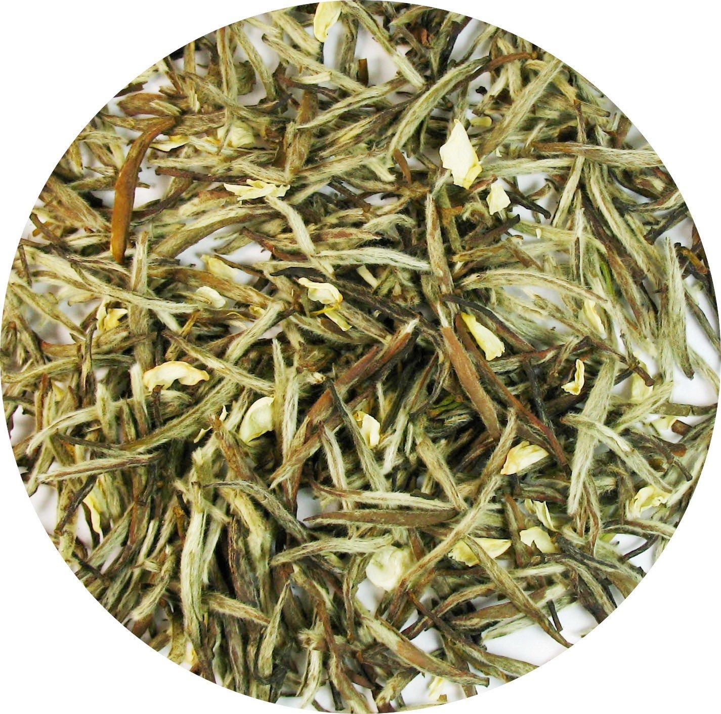 Jasmine Silver Needle White Tea,best white tea with all tippy- 1 LB Tea