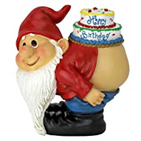 Design Toscano Moonie Bare Buttocks Garden Gnome Statue