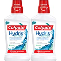Colgate Hydris Dry Mouth Mouthwash - 500mL, 16.9 fluid ounce, 2 Pack