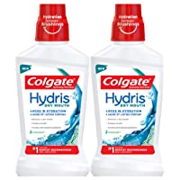 Colgate Hydris Dry Mouth Mouthwash - 500mL, 16.9 fluid ounce (2 Pack)