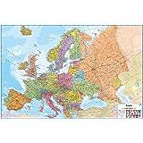 Fine Décor WallPops borrado en seco Mapa de Europa