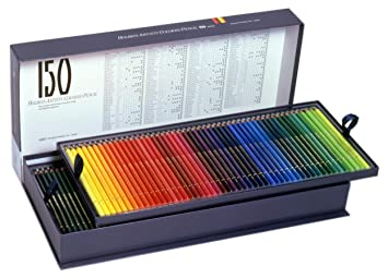 150 Color Paper Box Set Holbein Colored Pencil Japan Import
