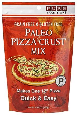 Certified Paleo Pizza crust mezclar, cereales y sin gluten ...