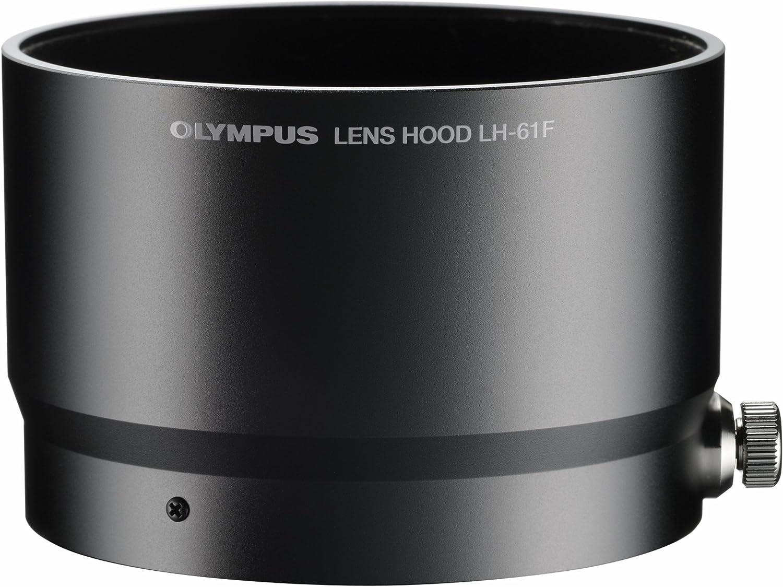 schwarz Sonnenblende, Streulichtblende f/ür Olympus M.Zuiko Digital ED 75mm f//1.8 LH-61F JJC LH-J61F Black Gegenlichtblende