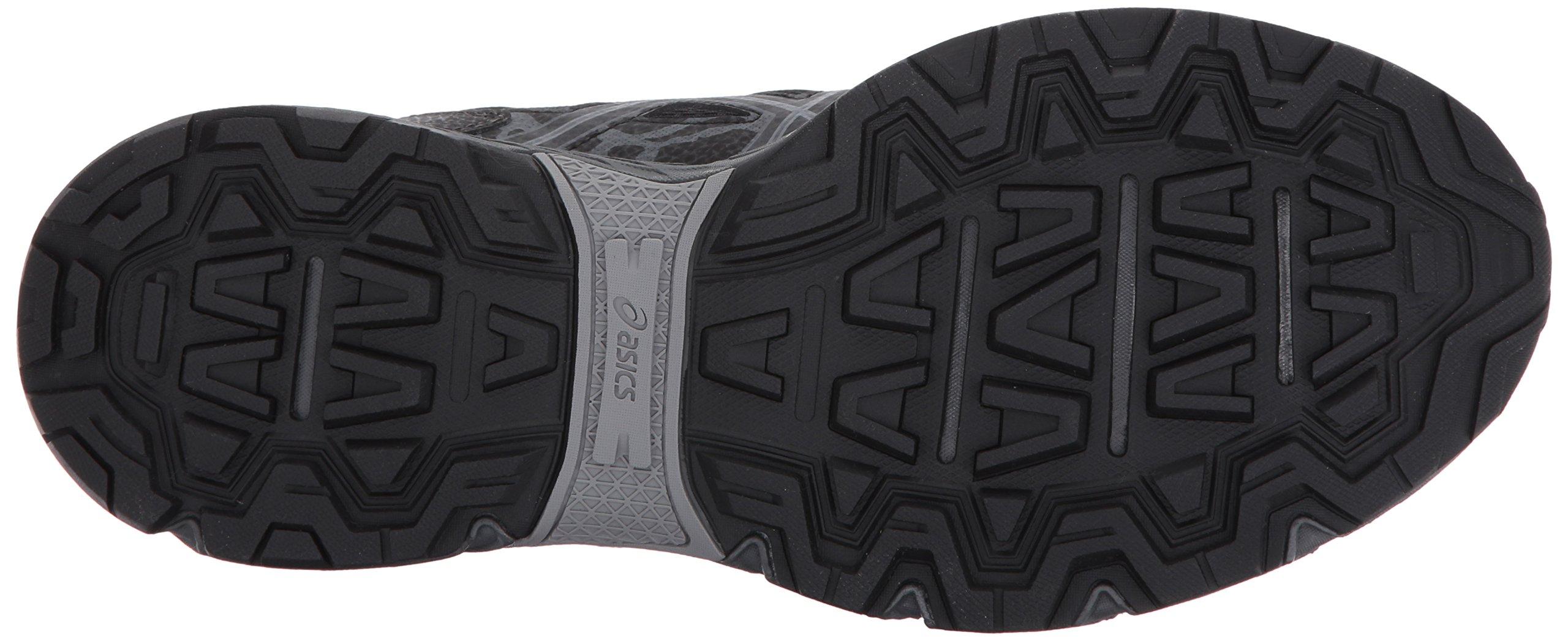 ASICS Mens Gel-Venture 6 Running Shoe, Black/Phantom/Mid Grey, 7 Medium US by ASICS (Image #3)