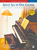 Alfred's Basic Adult Piano Course, All-In-One, Level 2 w/CD [STUDENT EDITION]