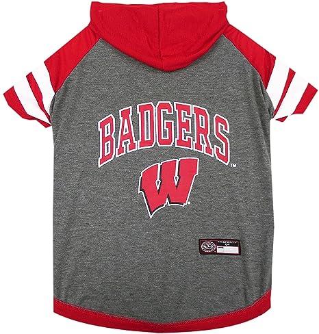 Amazon.com: NCAA Wisconsin - Sudadera con capucha para ...