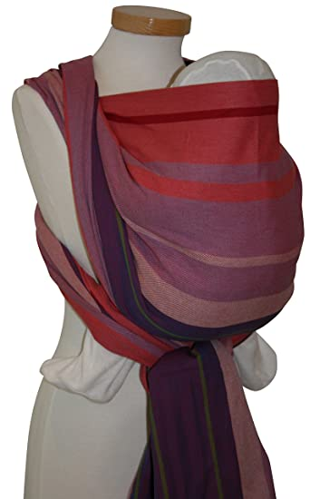 3d6966c8896c Amazon.com   Storchenwiege Woven Cotton Baby Carrier Wrap (5.2, Ulli)    Child Carrier Slings   Baby