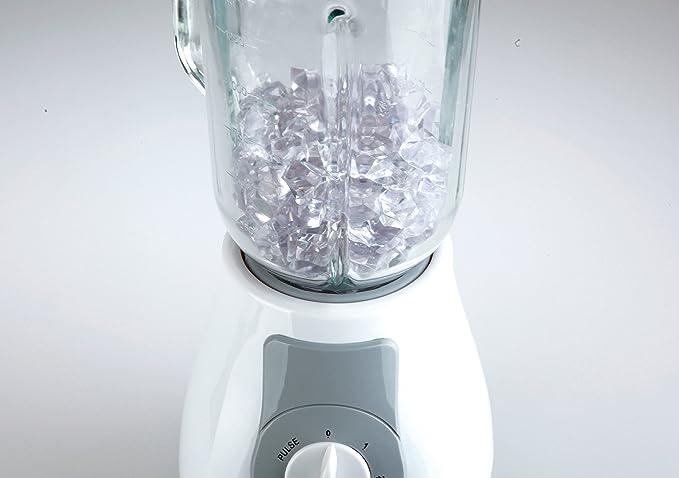 Jata - Batidora batidora vaso cristal 1,5l. bt262 blanco: Amazon ...