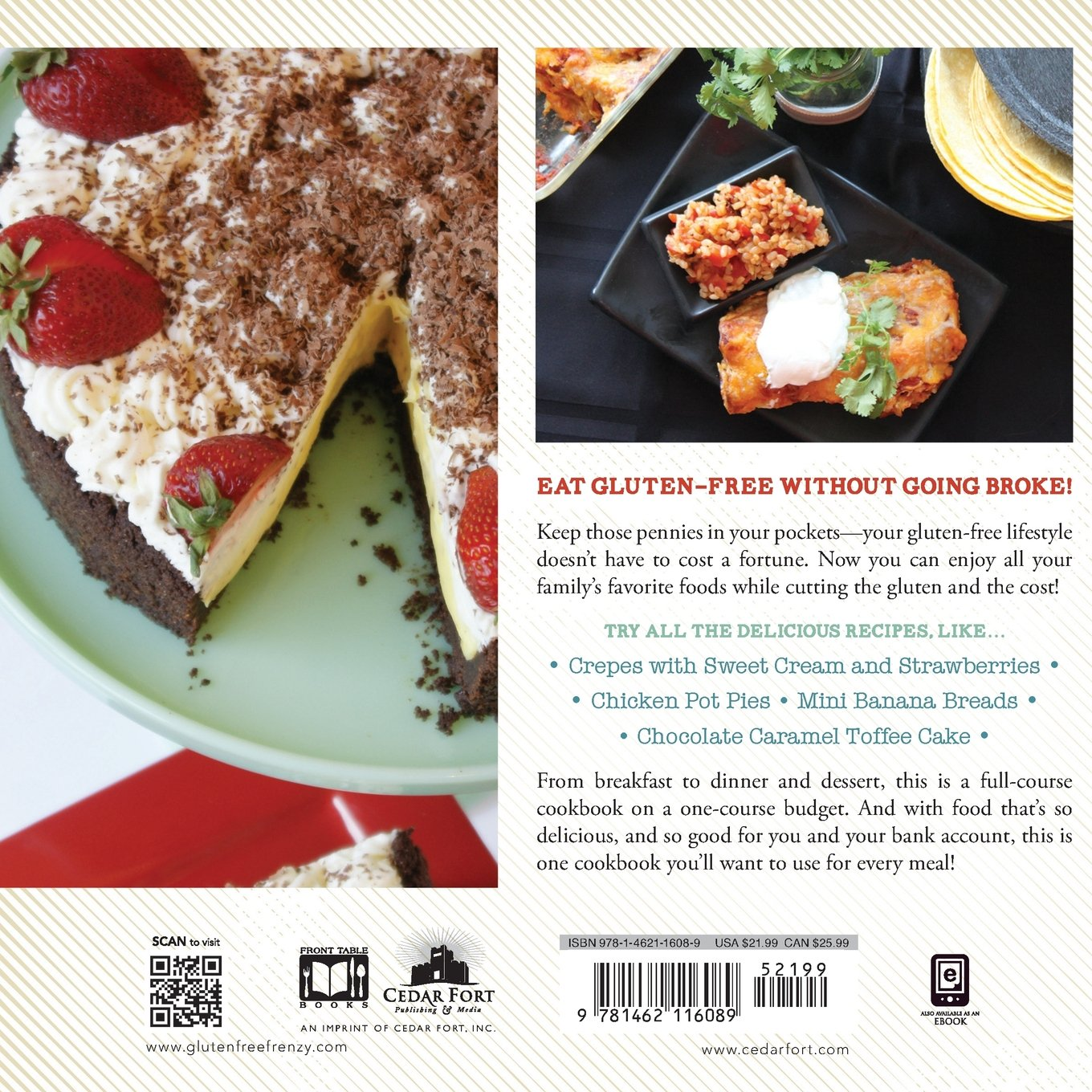 Gluten free on a budget chandice probst and tana besendorfer gluten free on a budget chandice probst and tana besendorfer 9781462116089 amazon books forumfinder Gallery