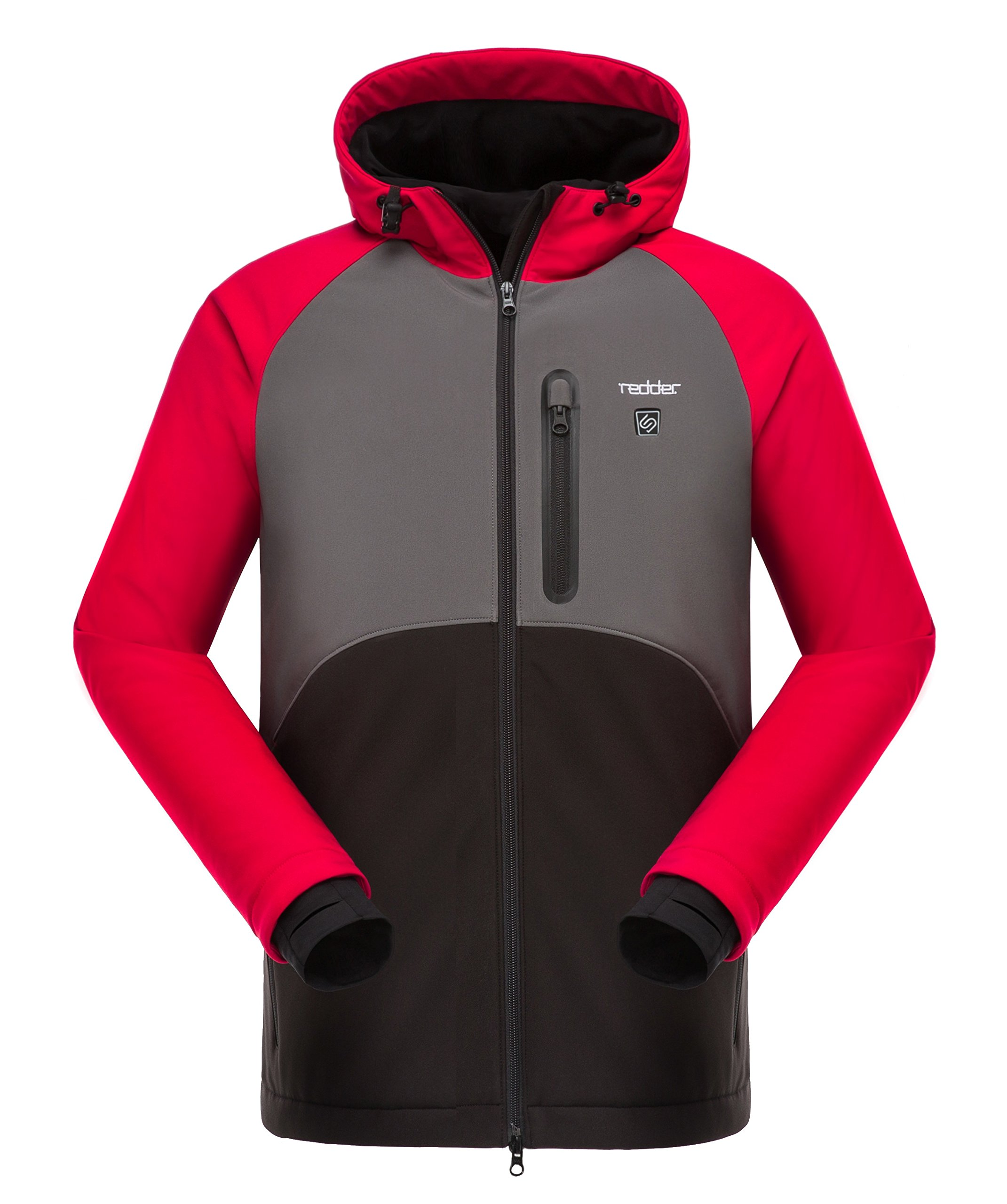 Heated Jacket for Women, Heating Hoodie Coat - Breathable Thermal Liner Heated by Portable Battery - for Climbing, Skiing, Hunting, Hiking, Riding, Outwork Heated Jacket ¡­