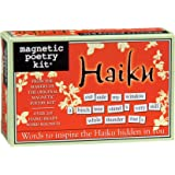 Magnetic Poetry - Haiku Kit - Words for Refrigerator - Write Poems and Letters on the Fridge - Made in the USA