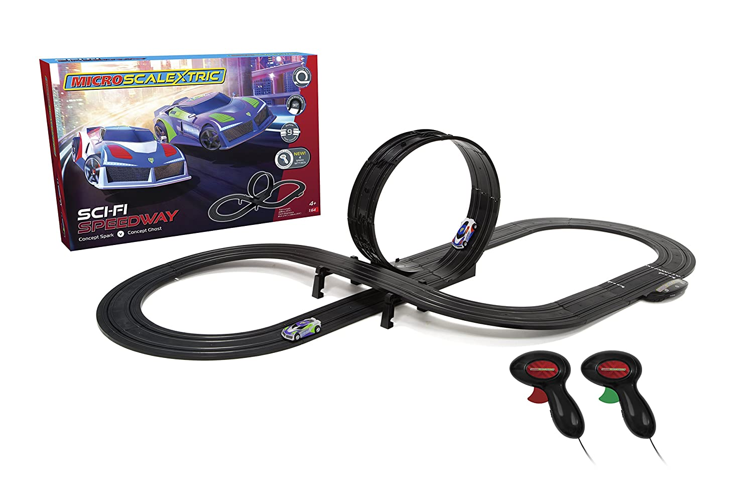 Scalextric G1133 Micro Sci-Fi Speedway Racing Set: Amazon.co.uk ...