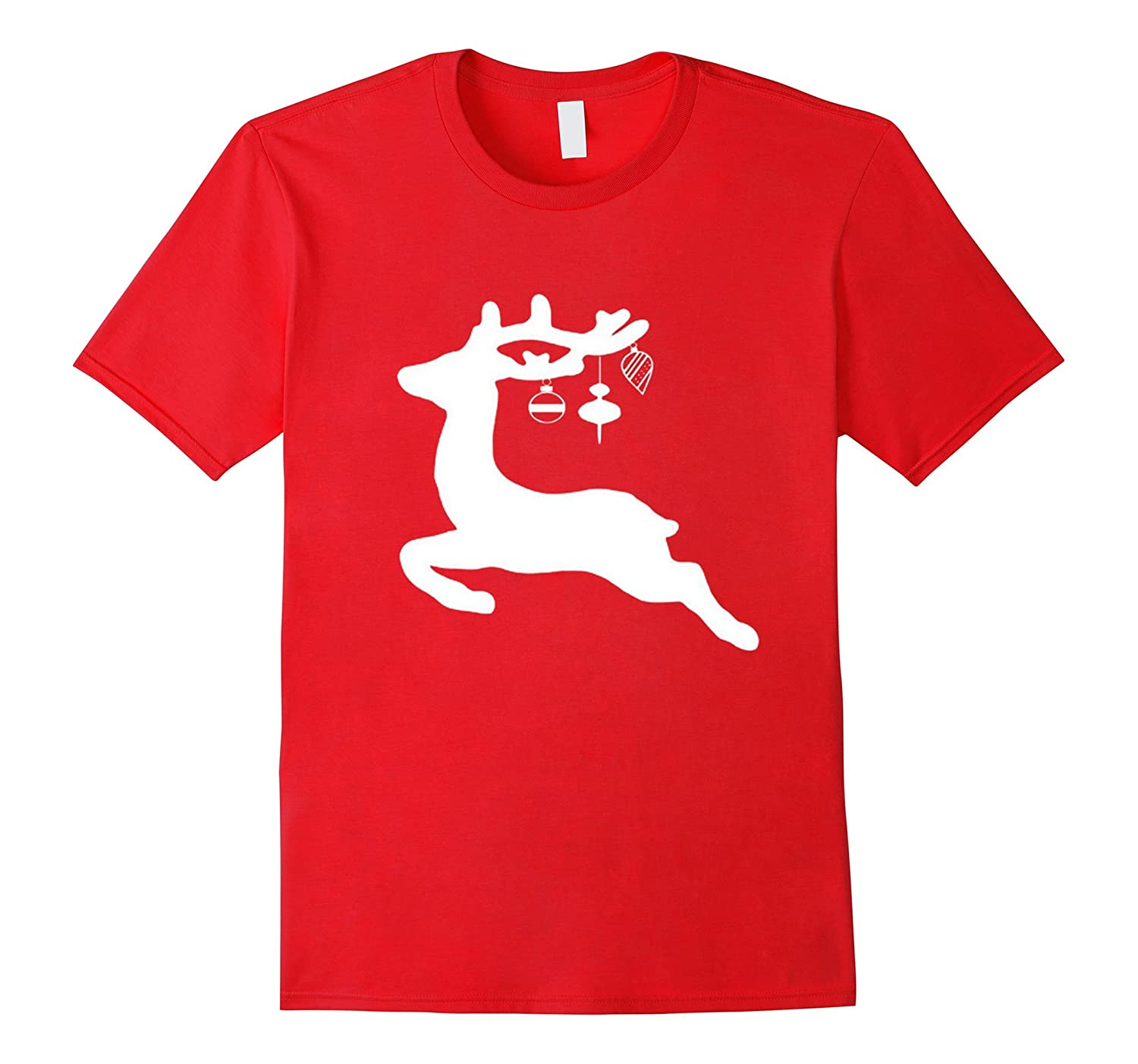 Christmas reindeer shirt Merry Christmas deer t-shirt-Art