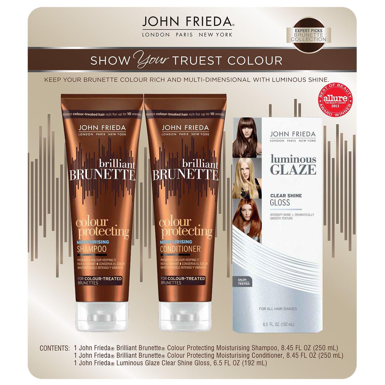 John Frieda Brilliant Brunette Variety Pack (3 pk.)