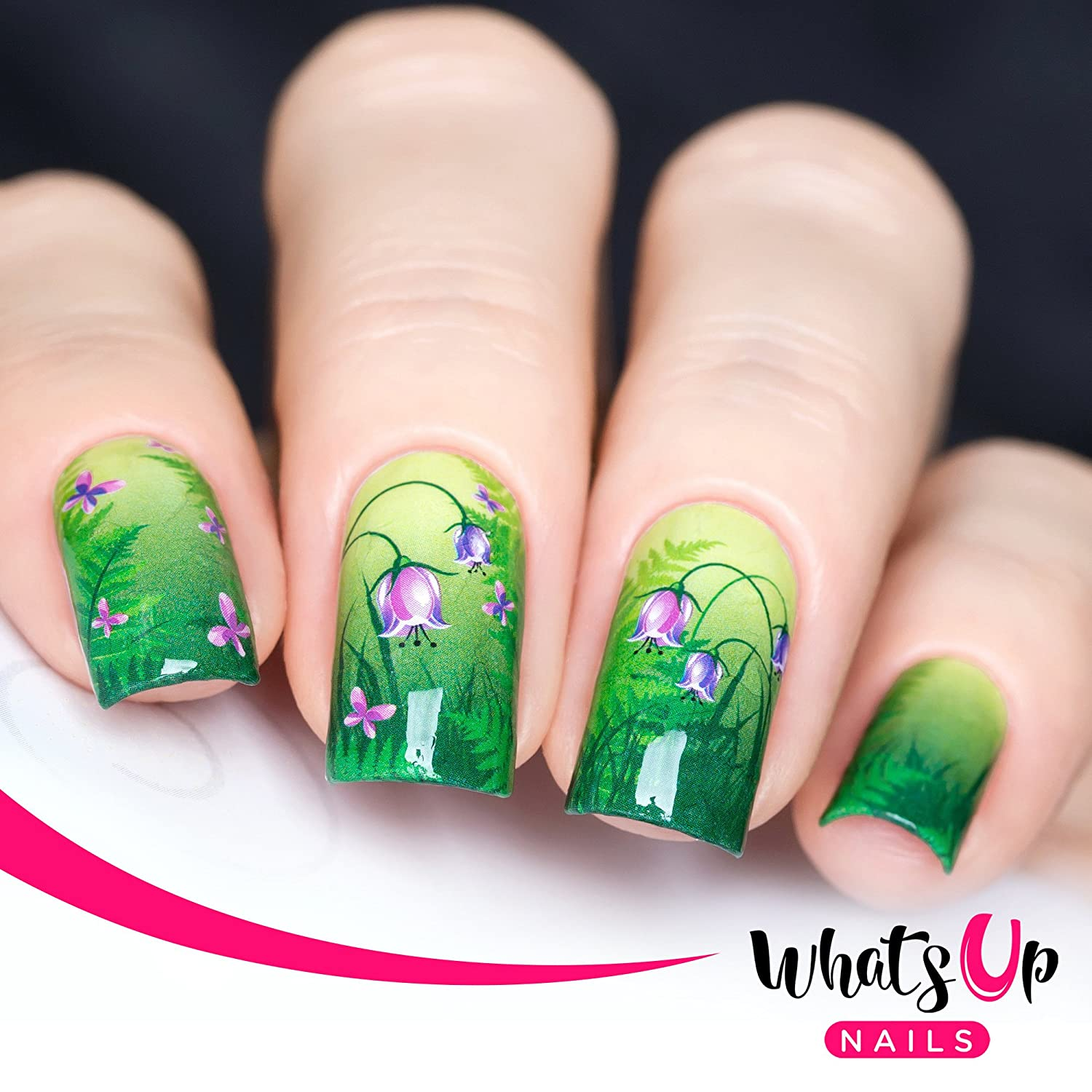 Whats Up Nails - P035 Spring Medley Water Decals Sliders for ...